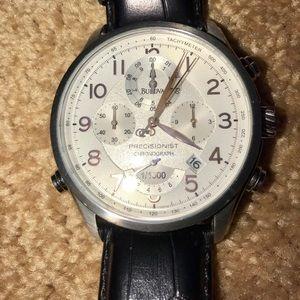 Bulova Precisionist Tachymeter Chronograph Watch